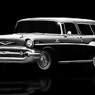 57 Chevy Wagon by Cliff Vestergaard