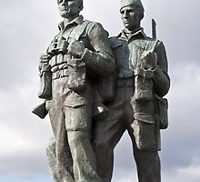 the commando memorial by paolo amiotti