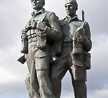 the commando memorial by paolo amiotti