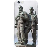 the commando memorial iPhone Case/Skin