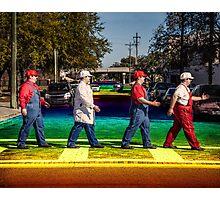 SexyMario - Rainbow Road Photographic Print