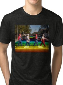 SexyMario - Rainbow Road Tri-blend T-Shirt