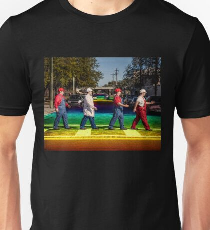 Rainbow Road -- Sexy Super Mario Unisex T-Shirt