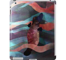Cute swimming mr. Platypus iPad Case/Skin