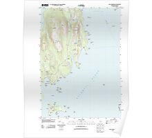 Maine USGS Historical Map Seal Harbor 20110919 TM Poster