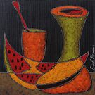 Serie frutas 2 by Jose De la Barra