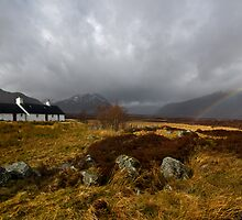 Rainbow over Black Rock by Neil O'Connell