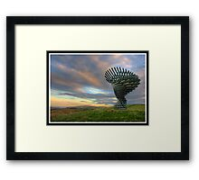 Singing Ringing Tree Panopticon (another angle) Framed Print
