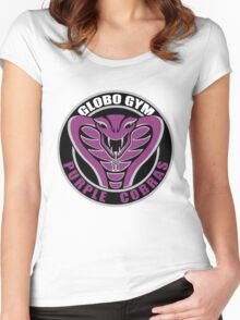 Globo Gym Purple Cobras Women's Fitted Scoop T-Shirt