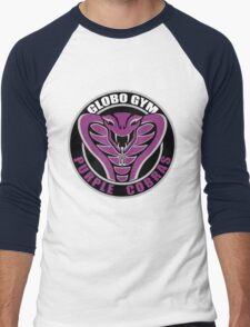 Globo Gym Purple Cobras Men's Baseball ¾ T-Shirt