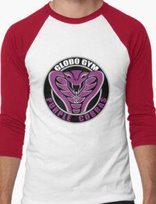 Globo Gym Purple Cobras Men's Baseball ¾ T-Shirt