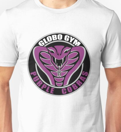Globo Gym Purple Cobras Unisex T-Shirt
