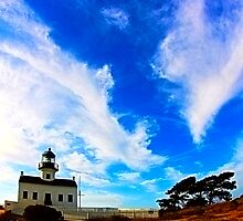 Old Point Loma Lighthouse at Cabrillo National Monument by PeggySue67
