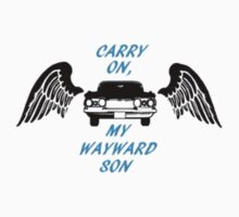 """Supernatural """"Carry On, My Wayward Son"""" by nerdyminded"""