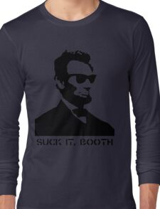 Abraham Lincoln Suck It Booth Long Sleeve T-Shirt