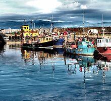 Cromarty Harbour by Calum Davidson