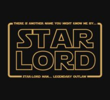 Star-Lord man... Legendary outlaw. T-Shirt