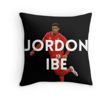 Jordon Ibe LFC Throw Pillow