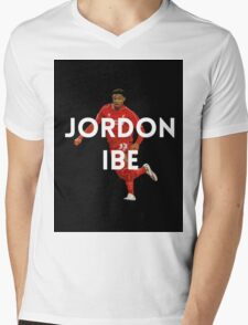Jordon Ibe LFC Mens V-Neck T-Shirt