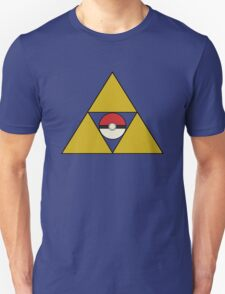 Triforce with Pokeball T-Shirt