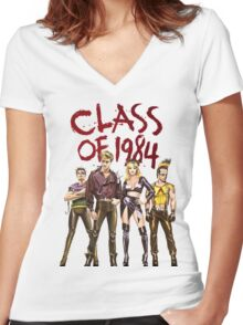 CLaSs of 1984! Women's Fitted V-Neck T-Shirt