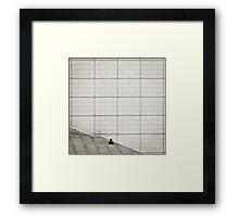 Parisian Squares Framed Print