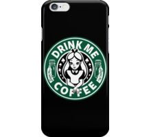 Drink Me Coffee iPhone Case/Skin
