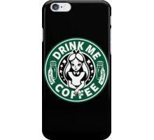 Drink Me Coffee iPhone Case/Skin
