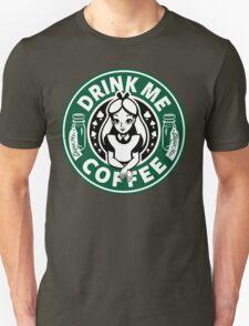 Drink Me Coffee Unisex T-Shirt