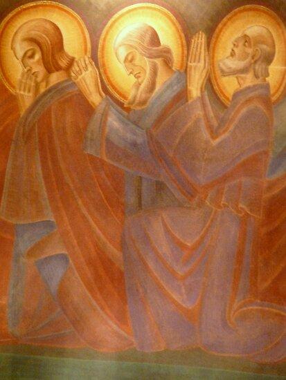 Holy Men  Adoring by HELUA