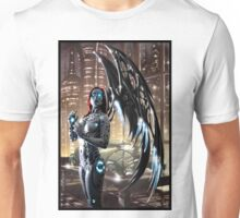 Robot Angel Painting 009 Unisex T-Shirt