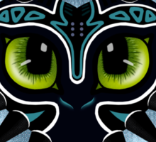 Toothless Mask Sticker