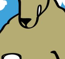 Skippy Returns Sticker