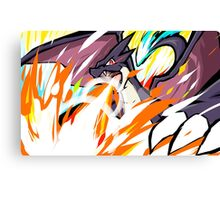 Shiny Mega Charizard Y | Overheat Canvas Print