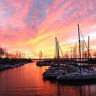 Marina Sunset by alissasanderson