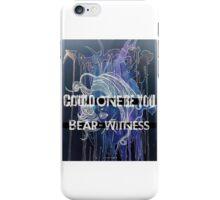 Bear-Witness: Could One Be You Merch iPhone Case/Skin