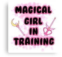 Magical Girl In Training Canvas Print