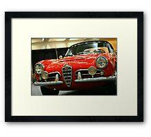 Alfa Romeo Giulietta Framed Print
