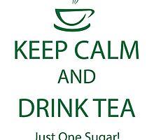 Keep Calm and Drink Tea ~ Burketeers by burketeer