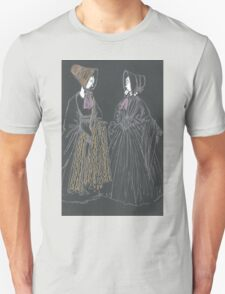 mourning dresses and bonnets T-Shirt