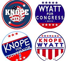 parks and rec knope wyatt campaign collection by sansastoneheart