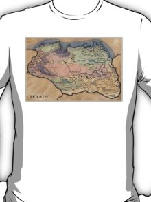 Map Skyrim T-Shirt