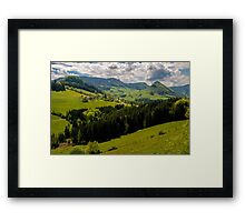 Austria - Land of Contented Cows Framed Print