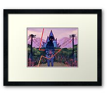Diverting Energy Framed Print