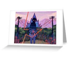 Diverting Energy Greeting Card