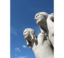 Sculptures by Gustav Vigeland, Oslo Photographic Print