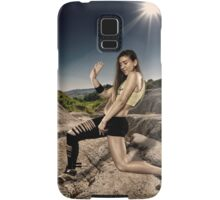 Street dancer doing moves Samsung Galaxy Case/Skin