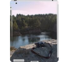 when technology meets nature iPad Case/Skin