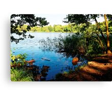 Virginia Water Lake, Windsor, England Canvas Print