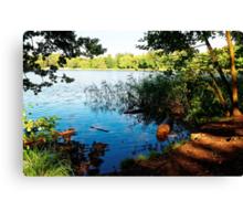 Virginia Water Lake, Windsor, England Canvas Print